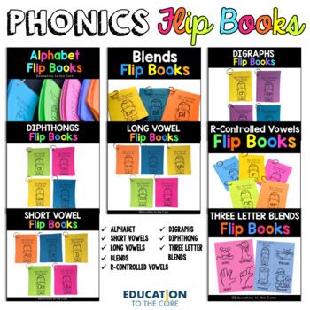 Phonics Flip Books Bundle