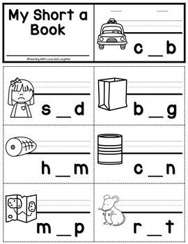 Phonics Flip Books Bundle {CVC Words, Digraphs, Blends, Vowel Teams}