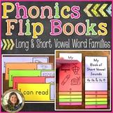 Phonics Flip Books {Long & Short Vowels} Distance Learning