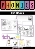 Phonics Flip Books - digraphs, r-controlled vowels and more