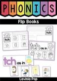 Phonics Flip Books: digraphs, r-controlled vowels, vowel teams
