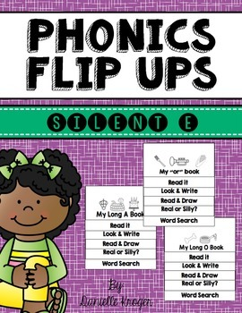 Phonics Flip Books: Silent E