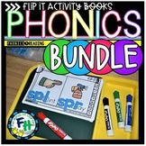 Phonics Flip-It Activity Books BUNDLE