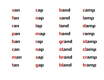 Phonics Flip Strips:  Onsets and Rimes, CVC and More!
