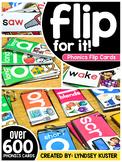 Phonics Flip Cards - The Full Set
