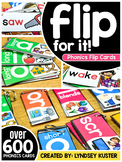 Phonics Flip Cards - The Full Set