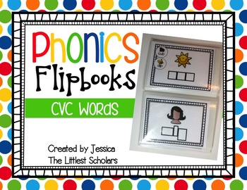 Phonics Flipbooks [CVC Words]