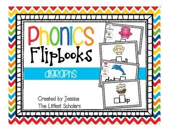 Phonics Flipbooks [Digraphs]