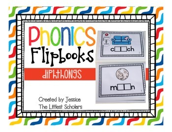 Phonics Flipbooks [Diphthongs]