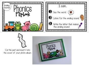 Phonics Flipbooks [Ending Sounds]
