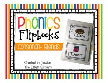 Phonics Flipbooks [Initial Consonant Blends]