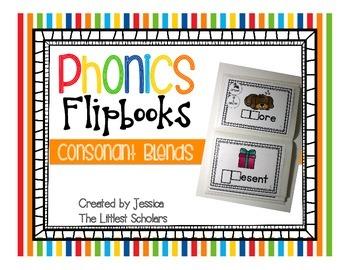 Phonics Flipbooks [Initial Consonant Blends]