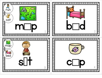 Phonics Flipbooks [Medial Short Vowels]