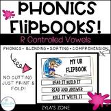 Phonics Flipbooks: R Controlled Reading Passages