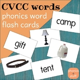 Phonics Flips - CVCC Flash Cards