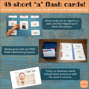 "Phonics Flips - Short ""a"" Flash Cards"