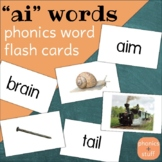 "Phonics Flips - ""ai"" Flash Cards"