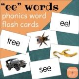 "Phonics Flips - ""ee"" Flash Cards"