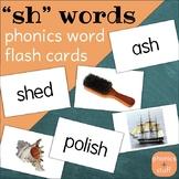 "Phonics Flips - ""sh"" Flash Cards"