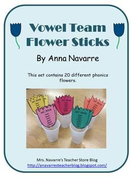 Phonics Flower Stick Bundle