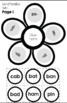 Phonics Flowers Interactive Booklets (70 Word Families)