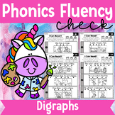 Phonics Fluency Check (Digraphs)