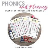 Kindergarten Heroes™ Kindergarten Phonics & Fluency Curriculum (Week 1)