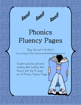 Phonics Fluency Pages