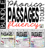 Phonics Fluency Passages - Big Bundle
