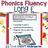 Reading Fluency Passages: Phonics Month of Long Vowel E: EA, EE, EY, IE
