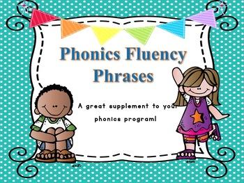 Phonics Fluency Phrases