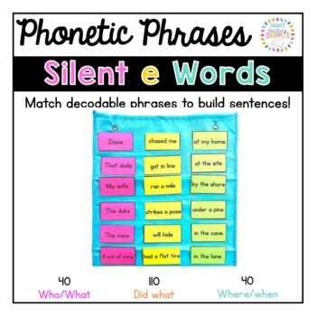 Phonics Fluency Phrases: Silent e