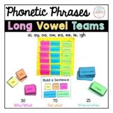 Phonics Fluency Phrases: Vowel Teams