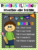 Phonics Fluency Practice and Assessment Bundle