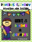 Phonics Fluency Practice and Assessments-Unit 5 Blends and Digraphs