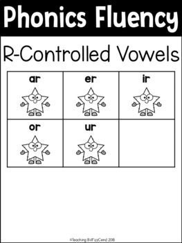 Phonics Fluency Read and Write (R-Controlled Vowels)