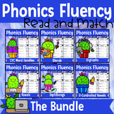 Phonics Fluency Read and Match (THE BUNDLE)