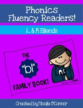 Phonics Fluency Readers: L AND R Blends