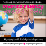 Hard and Soft C and G Worksheets Phonics Fluency Passages