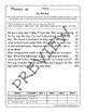Word Families Fluency Charts, Stories, & Comprehension Worksheets Bundle