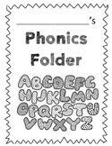 Phonics Folder Cover