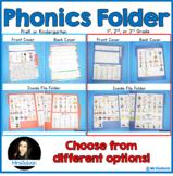 Phonics Folder and Reading Helper