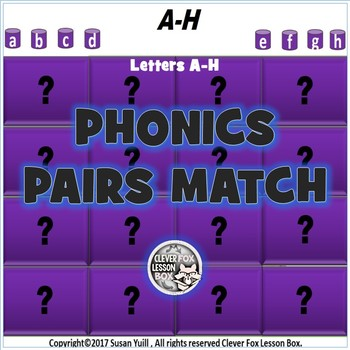 Phonics For Beginners A-H