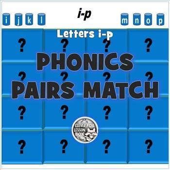 Phonics For Beginners I-P