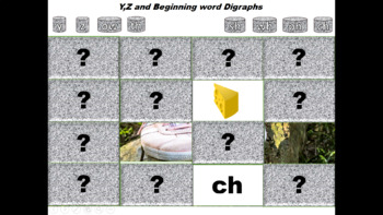 Phonics For Beginners Y,Z and Digraphs