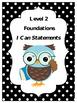 Phonics- Foundational Skills I CAN Statements - Level II