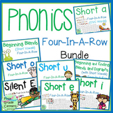 Phonics: Four in a Row {Growing Bundle}