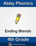 Phonics - Fourth Grade - Ending Blends Words Series