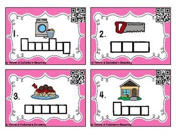 Phonics Frames Task Cards: Aw and au Set