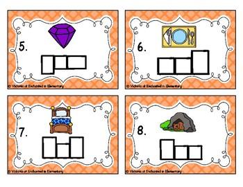 Phonics Frames Task Cards: CVC Short E Set